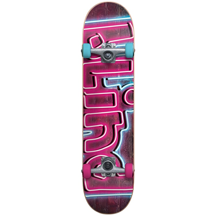 Blind Late Night Complete Skateboard w/Stocking - Pink/Blue 7.375""