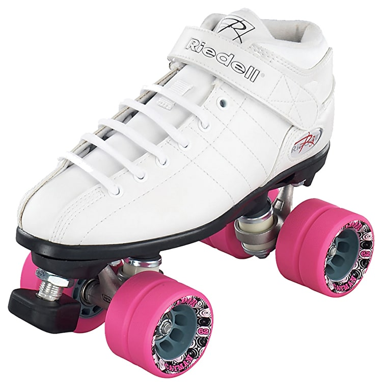 Riedell R3 Speed Roller Skates - White
