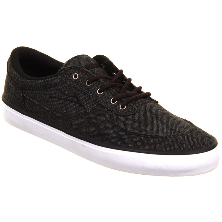 Lakai Parker Shoes - Charcoal Textile