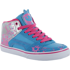 Etnies Kids RVM Vulc Disney Skate Shoes - Blue