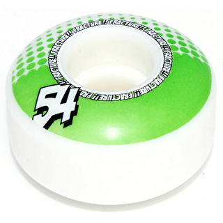 Fracture Drops Skateboard Wheels - Green 54mm (Pack of 4)