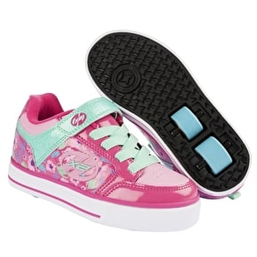 B-Stock Heelys X2 Thunder - Berry/Light Pink/Mint - Junior UK 13