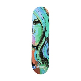 Colours Collectiv Aja Face 96 Skateboard Deck 8.1