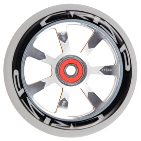 Crisp Hollowtech 110mm Scooter Wheel - Grey/Gold