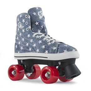 Rio Roller Quad Roller Skates - Canvas Blue Denim