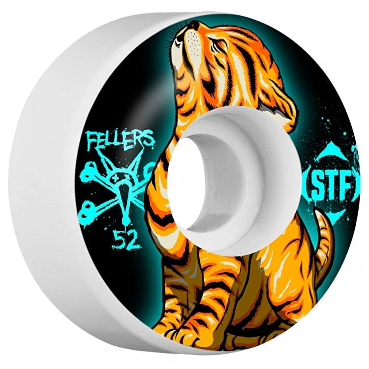Bones STF Fellers Roar V3 Skateboard Wheels - 52mm
