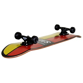 DVS Ace Custom Skateboard - Yellow/Red 8.0