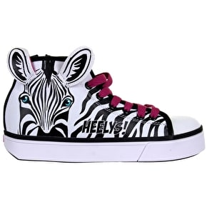 B-Stock Heelys X2 Zoo Series - Zebra - UK 1 (Box Damage)