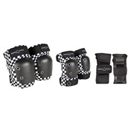 Pro-Tec Junior Street Gear 3 Pad Set - Checker