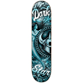 Darkstar Skateboard Deck - Mermaid HYB Teal 8.25