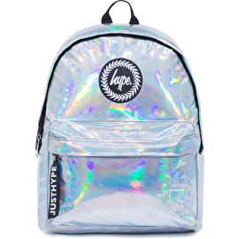 Hype Holographic Mini Backpack - Silver