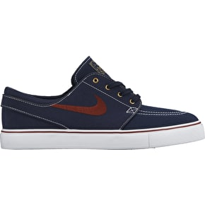 Nike SB Stefan Janoski Shoes - Obsidian/Team Red