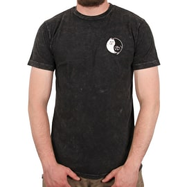 RIPNDIP Nermal Yang T shirt - Black Mineral Wash