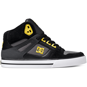DC Spartan High WC Shoes - Black/Yellow