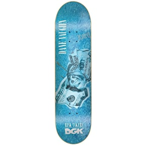 DGK Vaughn Risk Takers Skateboard Deck - 8.06