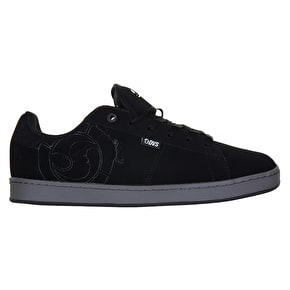 DVS Revival 2 Skate Shoes - Black Leather