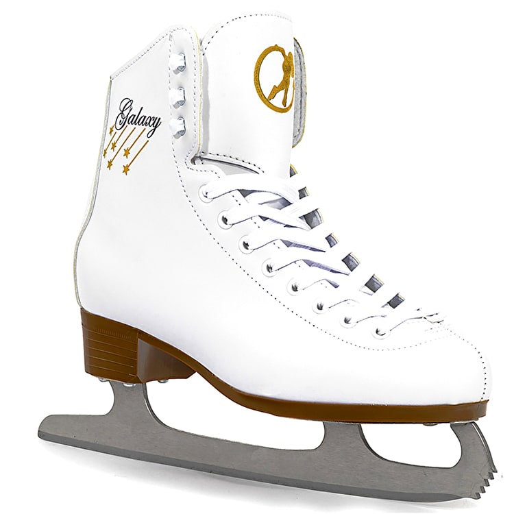 SFR Galaxy Ice Skates - White