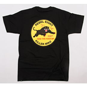 Rebel8 x Killer Mike Regiment T-Shirt - Black