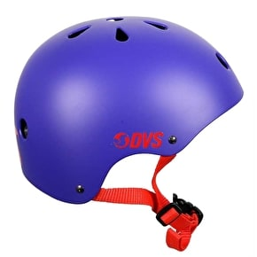 DVS Logo Helmet - Blue/Red