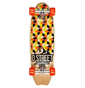 D-Street Stubby Cubic Cruiser - Orange/Lime