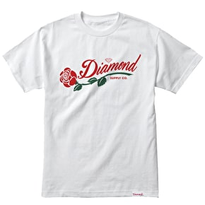Diamond La Rosa T-Shirt - White