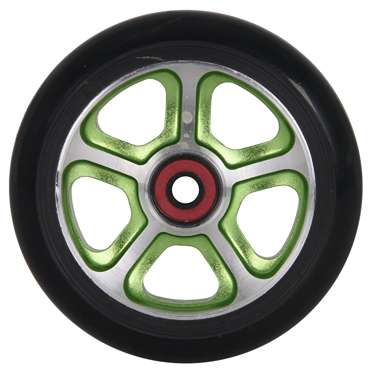 "MGP CF ""Filth"" Scooter Wheel - Green/Black 110mm"