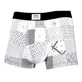 WeSC Patchwork Boxers - White
