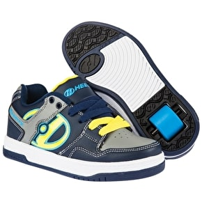 Heelys Flow - Navy/Yellow/Grey