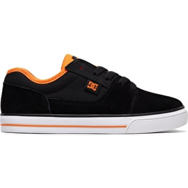 DC Tonik Skate Shoes - Black/Orange