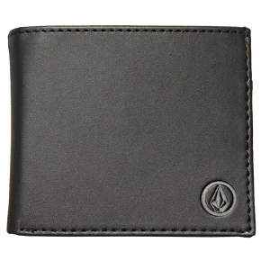 Volcom Corps Wallet - Blackity Black
