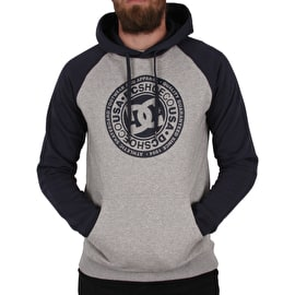 DC Circle Star Hoodie - Black Iris/Heather Grey