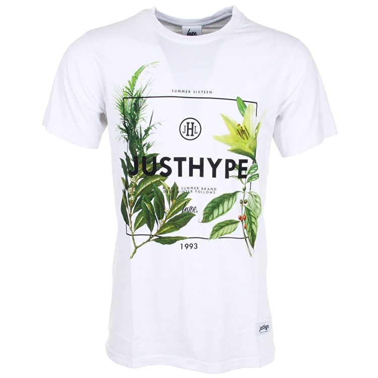 Hype T-Shirt - High Summer - White