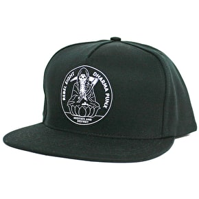 Rebel8 Meditate Snapback Cap - Black