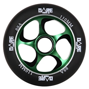 Dare Swift 2 Scooter Wheel - Black/Green 110mm