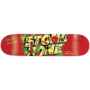 Enjoi Skateboard Deck - Welcome To R7 Rojo 8