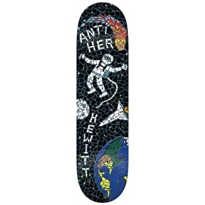 Anti Hero Skateboard Deck - Final Dustination Hewitt Black 8.5