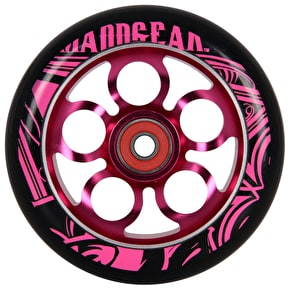 MGP Aero Scooter Wheel - Pink/Black 110mm