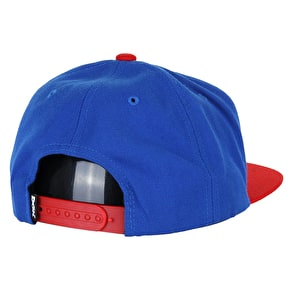DGK Haters Snapback Cap - Royal/Red