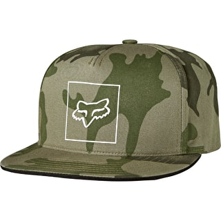 Fox Crass Snapback Cap - Camo