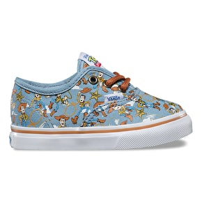 Vans x Toy Story Authentic Toddler Shoes - Woody/True White