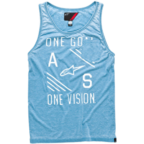 Alpinestars Burn Out Tank Top - Blue