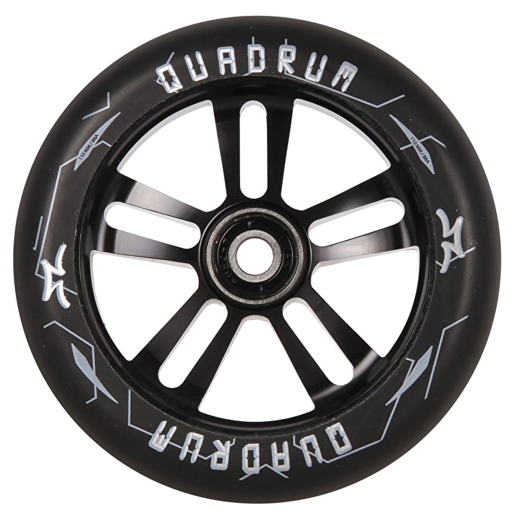 AO Quadrum 10-Star Scooter Wheel 110mm - Black