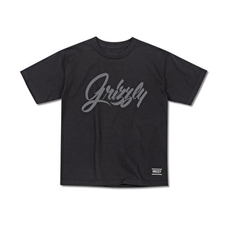 Grizzly Hand Style Cubs T-Shirt - Black