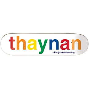 Enjoi Spectrum R7 Skateboard Deck - Thaynan 8.125