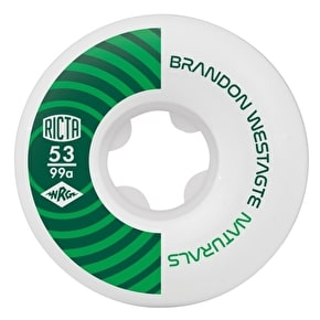 Ricta Naturals Westgate 99a Skateboard Wheels - 53mm
