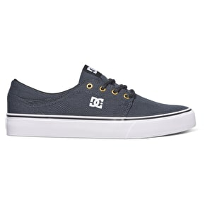 DC Trase TX Skate Shoes - Black/Grey