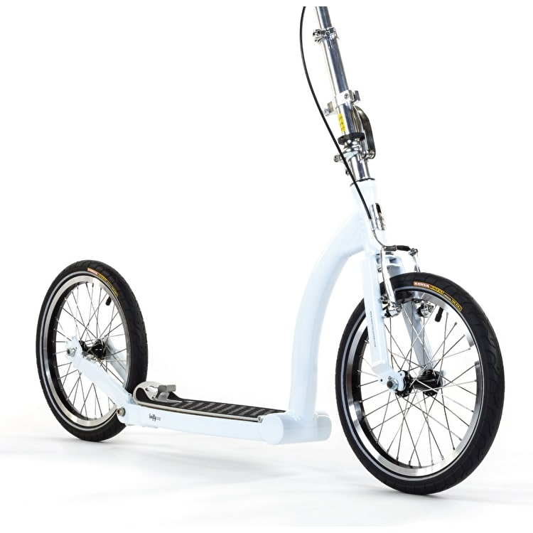 SwiftyONE MK3 Folding Commuter Scooter - Cool White/Silver