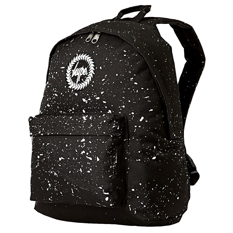 Hype Speckle Backpack - Black/White