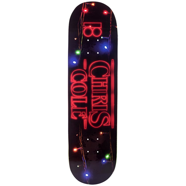 Plan B 011 BLK ICE Skateboard Deck - Cole 8.5""
