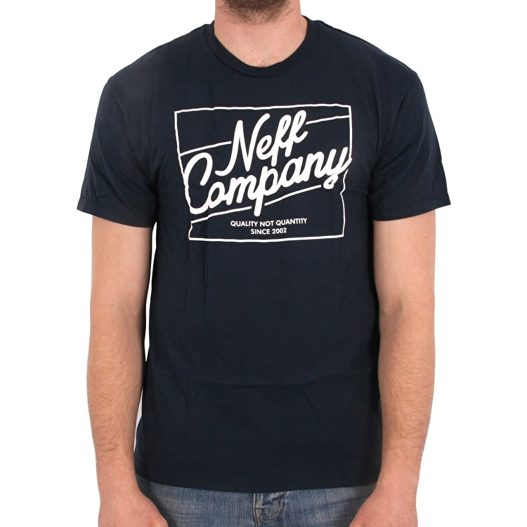 Neff The Deluxe T shirt - Navy